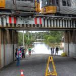 """Park Road, Yeronga During Brisbane 2011 Floods"" by urban"
