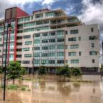 """Tennyson During Brisbane 2011 Floods"" by urban"
