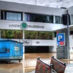 """Jade Buddha Nightclub During Floods"" by urban"