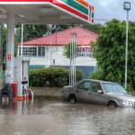 """Fairfield 7/11 During Floods"" by urban"