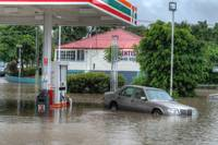Fairfield 7/11 During Floods