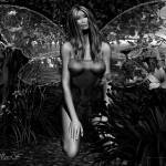 """GARDEN FAE BW"" by NaturePlusStudios"