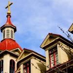 """Church in Victoria, Canada"" by raetucker"