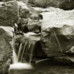 """CREEK WATER FALL 2475"" by RWA"