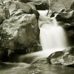 """CREEK WATER FALL 8612"" by RWA"