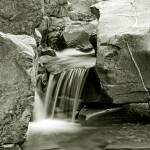 """CREEK WATER FALL NO. 2476"" by RWA"