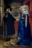 Alice in a Van Eyck Portrait