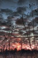 January Sky at Sunset by Jim Crotty