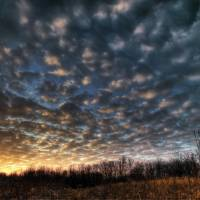 January Sunset at Sugarcreek by Jim Crotty