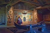 Chief Shakes House Interior, Wrangell, Alaska