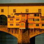 """Sun Rise on Ponte Vecchio"" by raetucker"