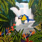 """Tropical Rainforest"" by ShantiLiving"