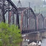 """""""Old Train Bridge"""" by AaronRoeth"""