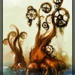 """back to life (steampunk tree)"" by AkiMao"