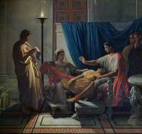 Virgil Reading the Aeneid to Livia, Octavia and Au