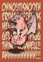 Bat Winged Demon Piggy