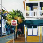 """Corner of Butterscotch & Blue"" by MelindaPatrick"