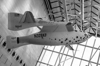 spaceship_one_bw