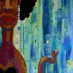 """Tears in a Bottle"" by blindfaithfineart"