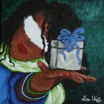 """Blind Faith: The Gift of Freindship"" by blindfaithfineart"