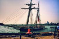 Tall Ship Docking- Navy Pier