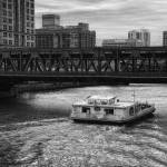 """Black and White Rolling on A River"" by fotographics"