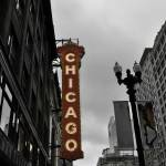 """Chicago Theater Sign"" by fotographics"