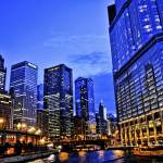 """Blue Chicago"" by fotographics"