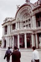 Palacio de Bellas Artes Fine Arts Palace Entrance