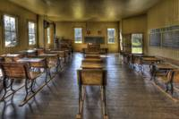 Coloma Schoolhouse Interior Two