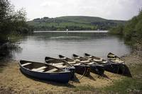 Boats at Combs Reservoir