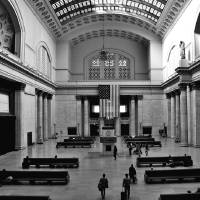 Grand Hall Union Station Chicago Art Prints & Posters by fotographics