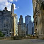 """Wrigley Plaza- Chicago"" by fotographics"