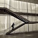 """Staircase - Modern Wing - Art Institute Chicago"" by fotographics"