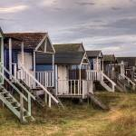 """Old Hunstanton Beach Huts, North Norfolk, United K"" by JohnEdwards"