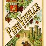 """Spanish Vintage Art Fine Vielle Grapes Castle"" by kken"