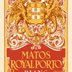 """Spanish Vintage Art Matos Royal Porto Crown Dragon"" by kken"