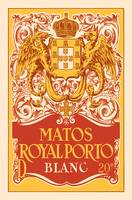 Spanish Vintage Art Matos Royal Porto Crown Dragon