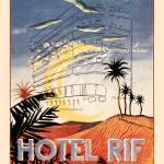 """Vintage Art Hotel Rif Tanger"" by kken"