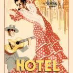 """Spanish Vintage Art Alhambra Hotel Granada"" by kken"