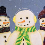 """""""Snow,Barry&Burrly"""" by EMBlairArtwork"""
