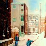 """""""DEBULLION STREET LANEWAY"""" by carolespandau"""