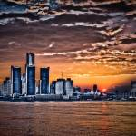 """Detroit Sunset"" by NightFoxPhoto"