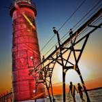 """Grand Haven South Pier"" by NightFoxPhoto"