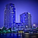 """River House Condominiums"" by NightFoxPhoto"