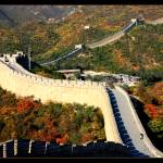 """Fall Foliage at the Great Wall"" by Groecar"