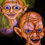 """Smeagol and Gollum"" by pennyelliott"