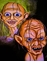 Smeagol and Gollum