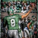 """Kirk Cousins"" by NightFoxPhoto"