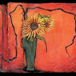 """Sunflower - Ikebana"" by OpieSnowPrints"
